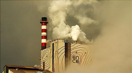 Contaminación atmosférica de ENCE