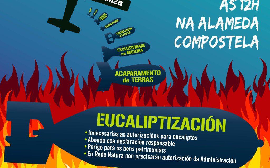 Chamamento a unha gran mobilización o vindeiro 22 de outubro en Compostela!