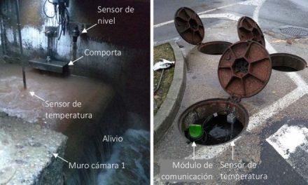 O xerente de Augas de Galicia, Gonzalo Mosqueira, recoñece ante os medios que se están vulnerando os termos da autorización de vertidos para a EDAR de Ribeira.