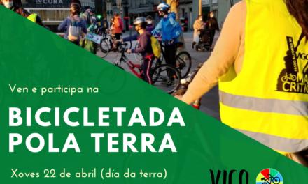 22 de Abril, Día da Terra: Bicicletada pola Terra