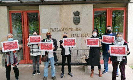 A coordinación Palestina.gal pediu aos grupos parlamentarios a denuncia dos presos palestinos