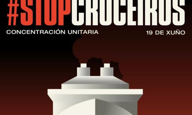 STOP Cruceiros: defendamos o clima, a saúde e a vida