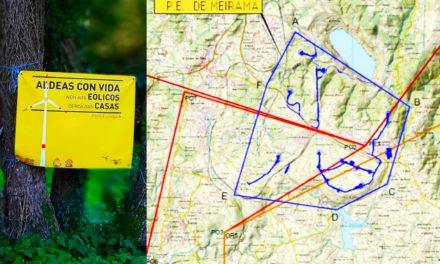 Verdegaia alega a construción do megaparque eólico de Meirama que afecta os concellos de Cerceda, Carral e Ordes