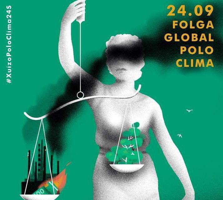 O Movemento Galego polo Clima mobilízase para denunciar a baixa ambición climática do Goberno